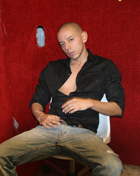 Gay Gloryholes Toilets : Adrian Troy!