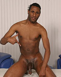 David Madrid Black Cock Training