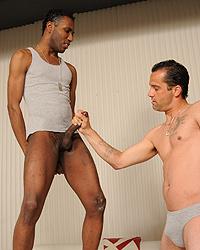 Ricky Lawrence Craving Black Cock